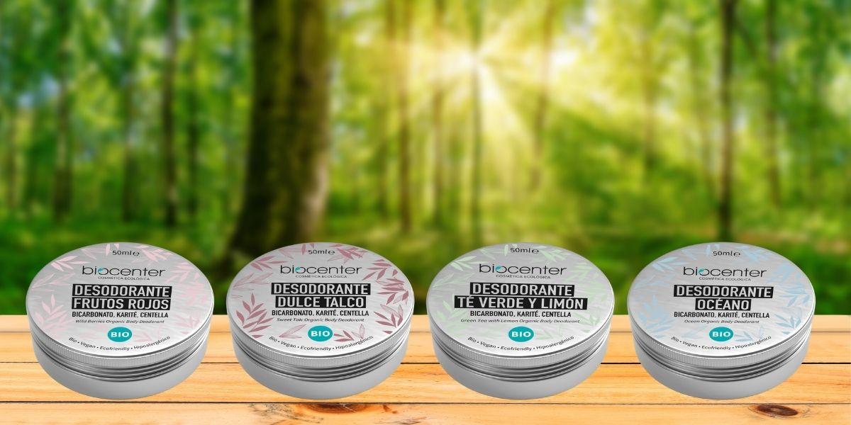 Desodorantes solidos y ecologicos